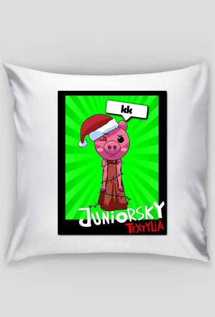 Poduszka - Świąteczna Piggy