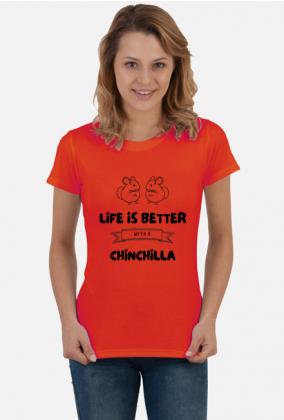 Koszulka damska life is better