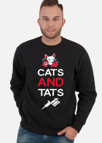 "Bluza ""Cats and Tats"""