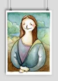 Plakat Mona Lisa