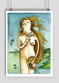 Plakat Narodziny Wenus
