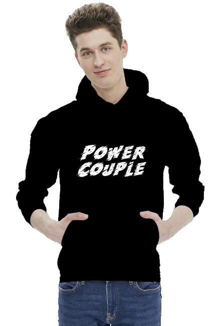 Bluza męska - Power Couple (Prezent na Walentynki)