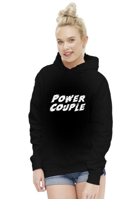 Bluza damska - Power Couple (Prezent na Walentynki dla pary)