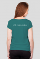 nie rób scen – zrób dzień dobry - koszulka damska