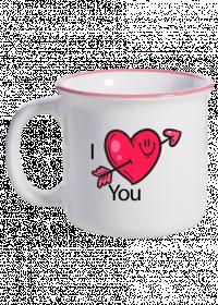 Garnuszek/Kubek I Love You