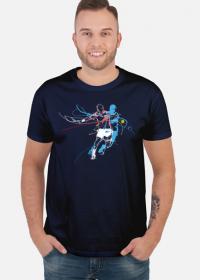 Koszulka z tenisistą Tenis Squash