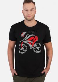 Koszulka kolarska z kolarzem The Fastest