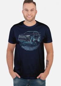 Koszulka z samochodem Toyota Rav4