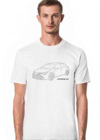 Koszulka z samochodem Toyota Corolla