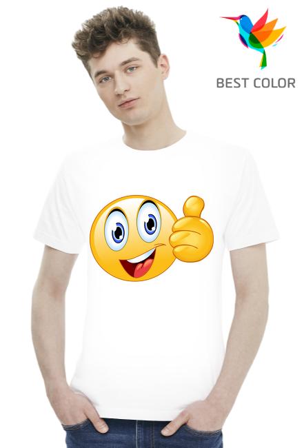 Koszulka Męska Best Color Buźka1