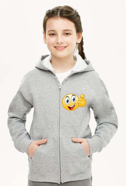 Bluza Dziecięca Rozpiana Unisex Buźka1