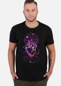 COSMIC LOVE- koszulka męska czarna