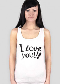 T-Shirt I Love You !!!