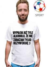 Podkoszulek koszulka z nadrukiem