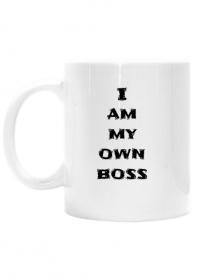 Kubek I am my own Boss