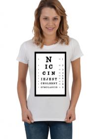SYMULANT - koszulka damska slimfit