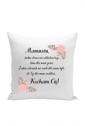 Poduszka - Wierszyk dla mamy (Pomysł na prezent z okazji Dnia Matki)