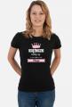 Koszulka damska - Księżniczki rodzą się w maju