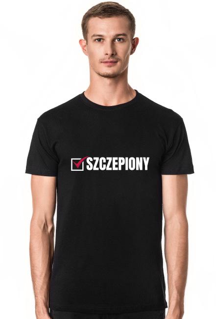 Koszulka męska - SZCZEPIONY