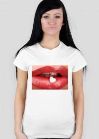 T-Shirt usta