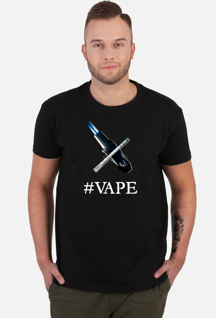 Koszulka VAPE (hash tag)
