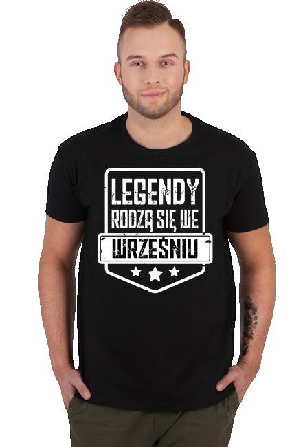 Koszulka Męska - Legendy Wrzesień