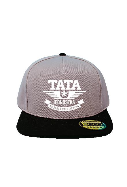 Czapka Snapback - Tata Jednostka (Prezent na Dzień Taty)