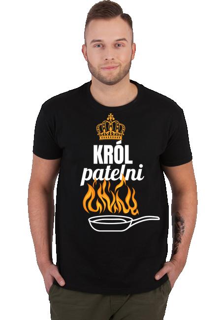 Koszulka Męska - Tata Kucharz (Prezent dla Taty)