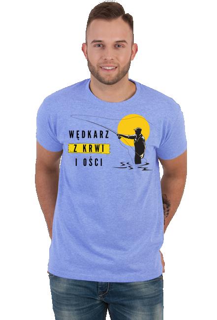 Koszulka Męska - Tata Wędkarz  (Prezent na Dzień Ojca)