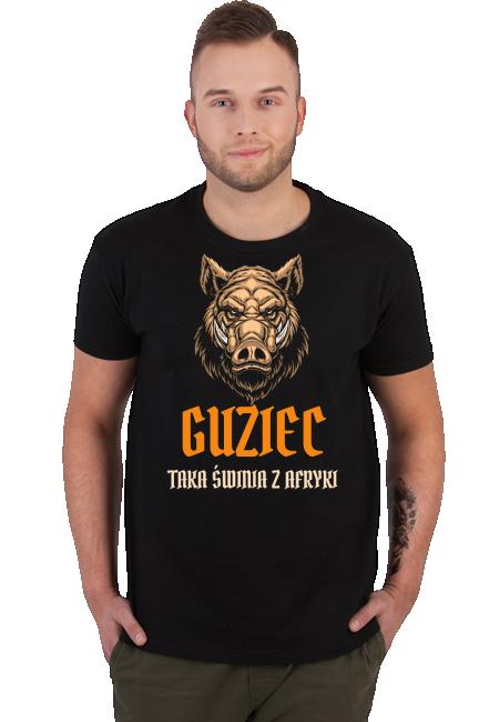 Koszulka Męska - Guziec (Prezent na Dzień Ojca)
