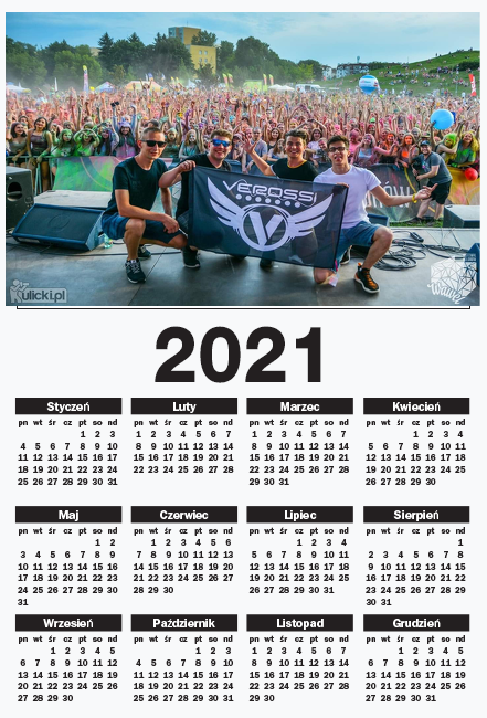 Kalendarz Imprezowy #VEROFamily
