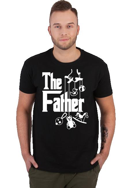 Koszulka  Męska - Tata (Prezent dla Taty)