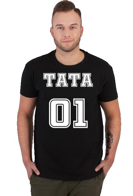 Koszulka Męska - Tata 01 (Prezent dla Taty