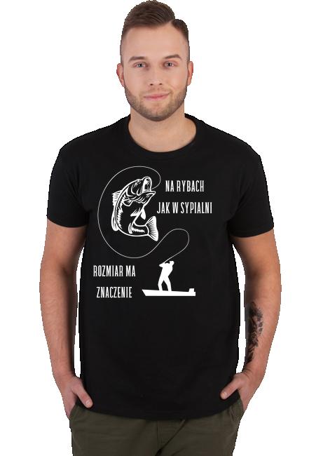 Koszulka Męska - Wędkarz