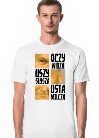 Papaj Oczy Widzą Usta Milczą koszulka (różne kolory)