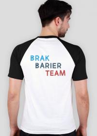 koszulka fundacyjna - biało-czarna