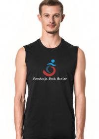 koszulka fundacyjna -czarna