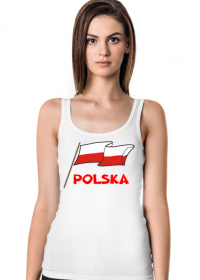 Koszulka patriotyczna bialo-czerwona flaga Polska