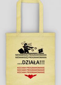 Programista. Prezent dla Programisty. Koszulka dla Programisty. Coder. Java, Python, SQL, PHP, HTML