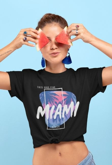 Koszulka damska - Miami