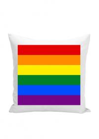 Tęcza LGBT poduszka poszewka