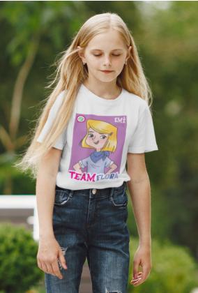 Koszulka dziecięca team Flora