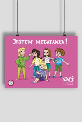 Plakat Emi i Tajny Klub Superdziewczyn - Jestem Megafanką poziom