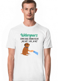 Weterynarz. Prezent dla Weterynarza. Koszulka dla Weterynarza