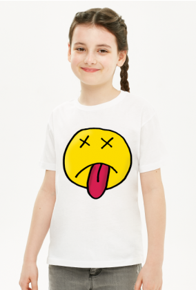 Emotka Bleeee - Koszulka dla dziewczynki