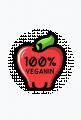 100% Veganin - Magnes okrągły dla weganina