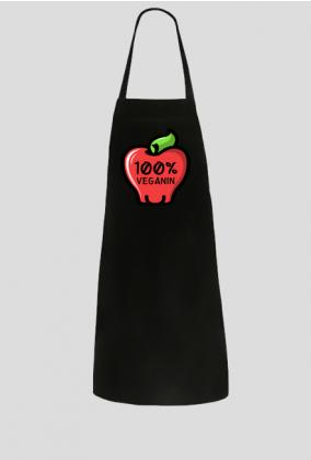 100% Veganin - Fartuch kuchenny