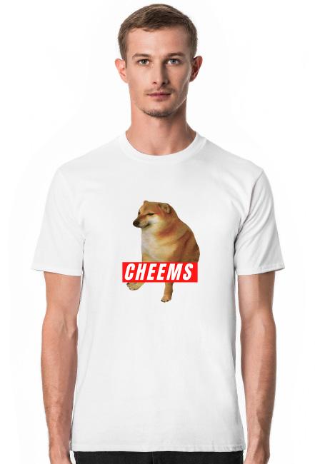 Koszulka męska - CHEEMS