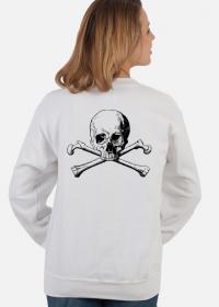 Halloween skull bluza