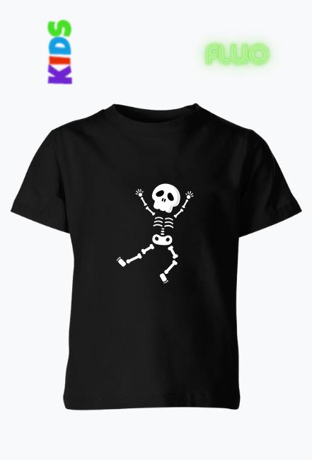 Koszulka z nadrukiem FLUO - Kostek